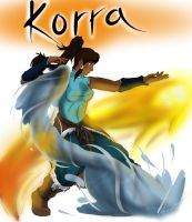 I LOVE KORRA by Ulrich-Ironpaw