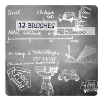 [brush]12 brushes on design by sherisang