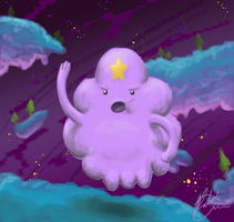Lumpy Space Princess by MidoriFlygon