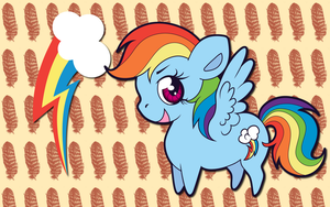 Chibi Rainbow Dash WP by AliceHumanSacrifice0