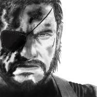 Big Boss from Metal Gear Solid V by TheSeraphion