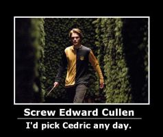 Cedric Demotivational Again by will-o-the-wispy