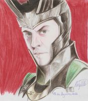 Loki - Tom Hiddleston.1 by SchwarzblutSterne