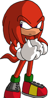 Knuckles the Echidna by adamis