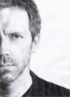 Hugh Laurie by DonieQ