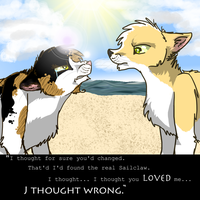 I thought you loved me by MagTehPapillon