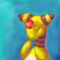 Happy Ampharos by nepryne