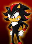shadow the hedgehog by Burningbunny13