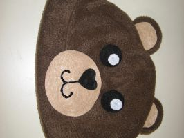 Teddy Bear Fleece Hat by iambrose777