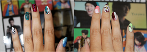 Super Junior Nail Art (sexy, Free and Single) by maryannart101