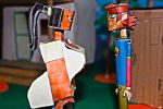 Harold and LeShawna - Total Drama Papercrafts Toys by ViluVector