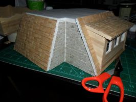 Les Shoppes Dollhouse Project: WIP 14 by kayanah