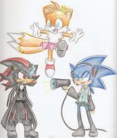 Sonic Crack :D by VampireFTW