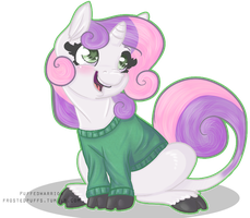 sweaterbelle by Puffedwarrior