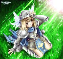 The Lady Paladin by Exarrdian