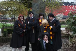 Snape and The Gryffindors by Yasmia