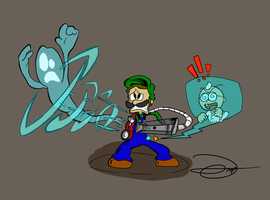 He's afraid of no ghost by drivojunior