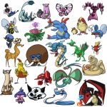 a bunch of pokemon by knez-iole