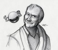 Douglas Adams' Towel Day by RobtheDoodler