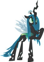 Queen Chrysalis vector by MarinaPg