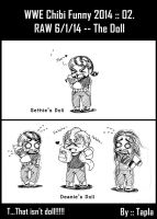 WWE Chibi Funny 2014 :: 02 by Tapla
