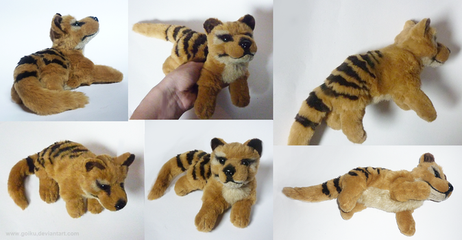 SOLD Thylacine - small floppy by goiku