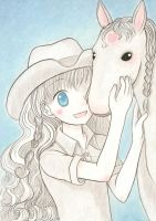 Cowgirl for Sirneo9805 by MsSarcasm