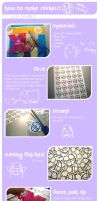 Sticker tutorial by xjessle