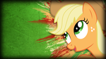 Grunge Applejack Wallpaper by TwopennyPenguin