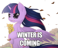 WINTER IS COMING (meme version) by E-Pon
