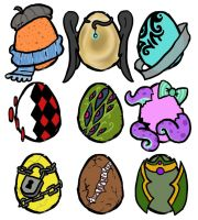 Point/Paypal Egg Adopts! by 207-Designs