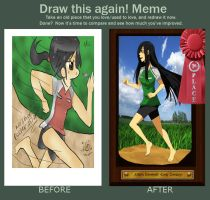 Before and After: Allison Run by Dirkajek144