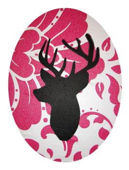 Stag Canvas by Sophie-Adamson