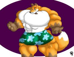 Mr Dreamtilas In His Boxers by Big-Wolf