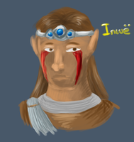 Dragonborn Inwe Doodle by FeatheredSoap