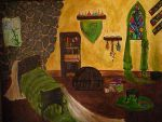 Sev's Room, Hogwarts, youth by lilynoelle