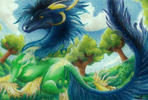 ACEO Summer Day by Windspirit-Aquaeris