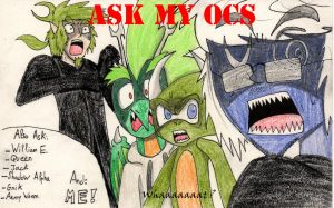 Ask My OCs and Me by Baka2niisan