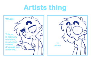 Artists thing by SmokyJack