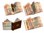 Fantasy Books PNG Stock by Jumpfer-Stock