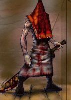 Pyramid Head - game version by georgetremarco