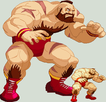 Zangief HD by 0kronos0