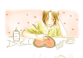 APH: Valentines by kelly--bean