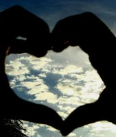 heart in the sky 2 by 16Ice-Heart16
