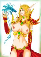 Blood elf 2 by nixminor