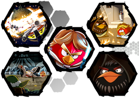 Angry Birds Star Wars by WE4PONX