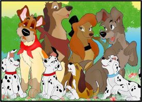 Disney's Dogs by Torenganger