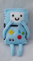 BMO Beemo Plush from Adventure Time by Aleeart7