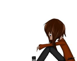 Another depressed Kouhi by Astralstonekeeper