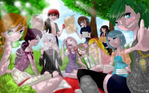- Picnic Birthday - by cold-angle